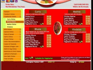 Click to view Cottingham tandoori