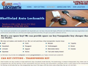 Web Design Euro locksmith