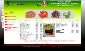 Website Design: Chilli