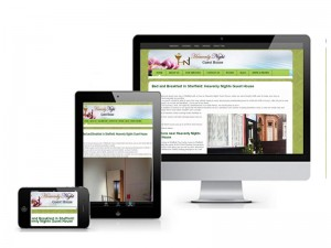 example of Responsive wweb design